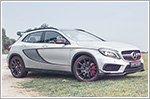 Car Review - Mercedes-Benz GLA-Class GLA 45 AMG (A)