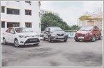 Comparison - Chevrolet Sonic Sedan 1.4 (A) & Nissan Almera 1.5 (A) & Toyota Vios 1.5 (A)