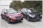 Comparison - Subaru XV 1.6 (A) & Suzuki S-Cross 1.6 CVT Panoramic Roof 4WD (A)
