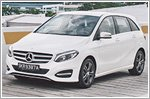 Mercedes B-Class keeps up with the competition