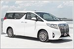 New Toyota Alphard is comfortable and luxurious