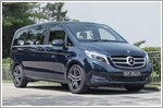Mercedes combines style and comfort with the V250