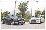 Comparison - Audi A6 1.8 TFSI Ultra S-tronic (A) & Infiniti Q70 2.5 V6 Premium (A)