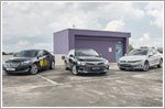 Passat challenges family sedan rivals