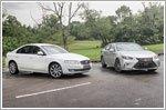 Comparison - Lexus ES250 2.5 Luxury (A) & Volvo S80 T5 Drive-E (A)