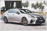 Chilling and thrilling in the Lexus GS F