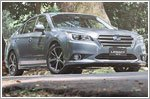 The Subaru Legacy isn't any faster but it's safer