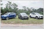 Comparison - Ford Kuga & Kia Sportage & Nissan Qashqai