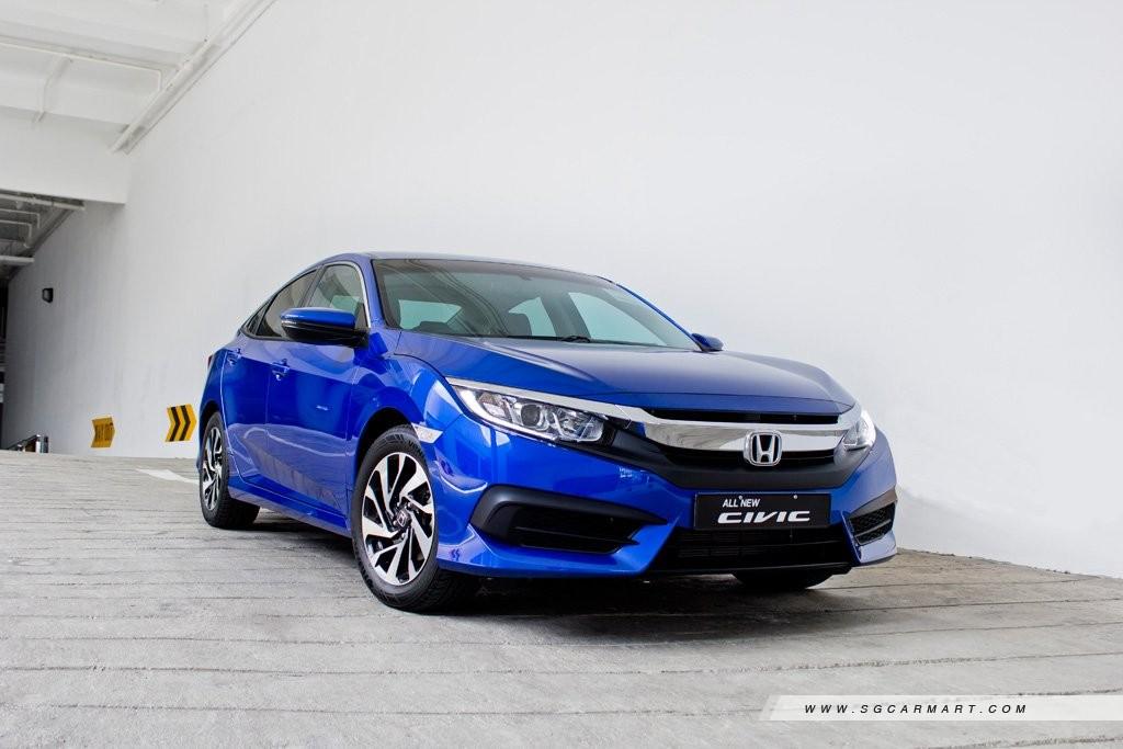 Car Review - Honda Civic 1 6 i-VTEC (A)