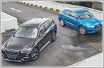 BMW X1 stands up to the Audi Q3