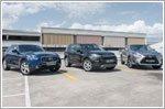 Comparison - Infiniti QX70 3.7 & Land Rover Discovery Sport 2.0 & Lexus RX200t