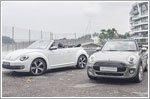 Comparison - MINI Cooper Convertible 1.5 & Volkswagen Beetle Cabriolet 1.2 TSI DSG