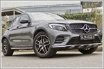 The GLC43 Coupe is a beautiful beast of an SUV