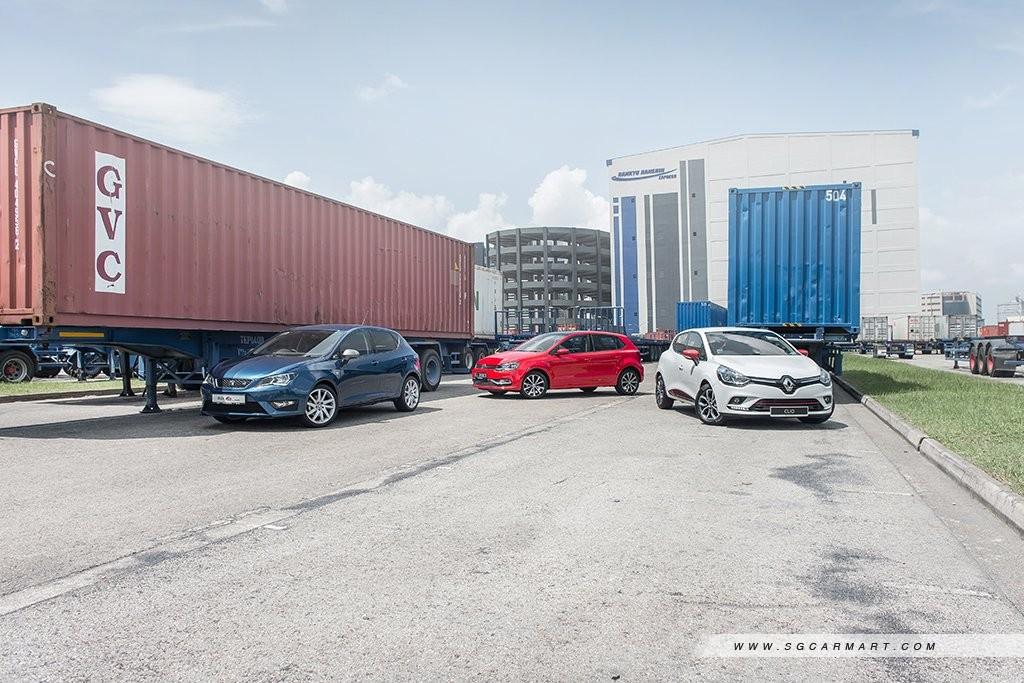 Comparison - Renault Clio 1 2T & Seat Ibiza 1 0 EcoTSI