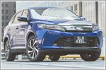 The new Toyota Harrier is soaring high
