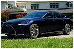 First Drive - Lexus LS500h Hybrid 3.5 Luxury (A)