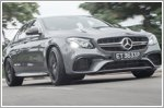 The E63 S is the most super of saloons