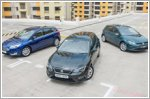 Comparison - Ford Focus Hatchback & Seat Leon & Volkswagen Golf