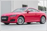 Audi TT 1.8 punches above its weight