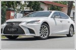 Car Review - Lexus LS 350 Luxury (A)