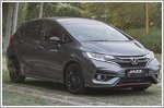 The Honda Jazz keeps chugging on