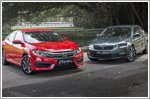 Comparison - Honda Civic 1.6 i-VTEC LX (A) & Skoda Octavia 1.0 TSI Ambition Plus (A)