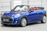 Walking on sunshine in the MINI Cooper Convertible