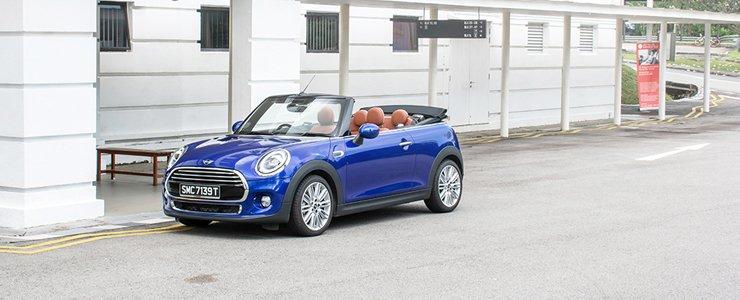 Car Review - MINI Cooper Convertible 1 5 (A)