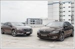 Stylish Opel Insignia takes on astute Skoda Superb
