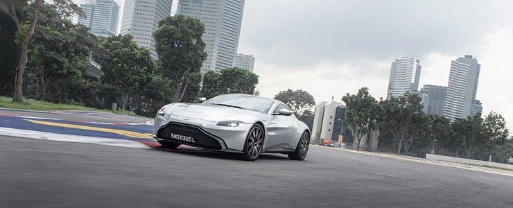 Car Review Aston Martin New Vantage 4 0 A