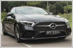 The Mercedes-Benz CLS450 is a sleek bullet