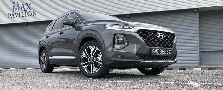 Car Review Hyundai Santa Fe 2 4 Gls Sunroof 7 Seater A