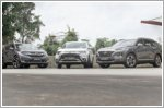 Hyundai Santa Fe takes on Honda and Mitsubishi