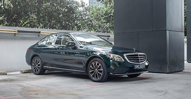 Facelift Mercedes Benz C Class Saloon C180 Exclusive A