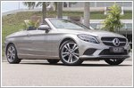 All smiles in the updated C-Class Cabriolet