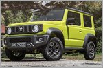 It's all smiles with the Suzuki Jimny