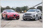 Comparison - Alfa Romeo Stelvio Super & Land Rover Range Rover Evoque 2.0 First Edition