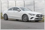 Style and substance in the Mercedes CLA200 Coupe