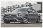 Car Review - Mercedes-Benz CLA-Class CLA200 Coupe AMG Line (A)