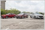 Accord, Camry and Mazda6 battle for supremacy