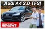 The Audi A4 is big on comfort and build quality