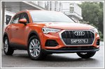 The Audi Q3 is right on que