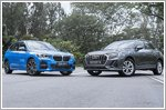 New Audi Q3 and BMW X1 cross paths