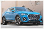 The Audi Q3 Sportback puts on a sharp suit
