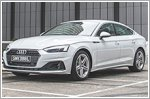 The Audi A5 Sportback is a handsome choice