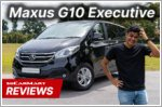 The Maxus G10 is an adaptable people carrier