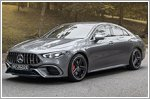 Car Review - Mercedes-Benz CLA-Class Coupe CLA45 S AMG 4MATIC+ (A)