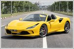 Car Review - Ferrari F8 Spider 3.9 V8 (A)