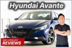 The Hyundai Avante is a stunning sedan