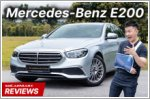 Video Review - Mercedes-Benz E-Class Saloon E200 Exclusive (A)